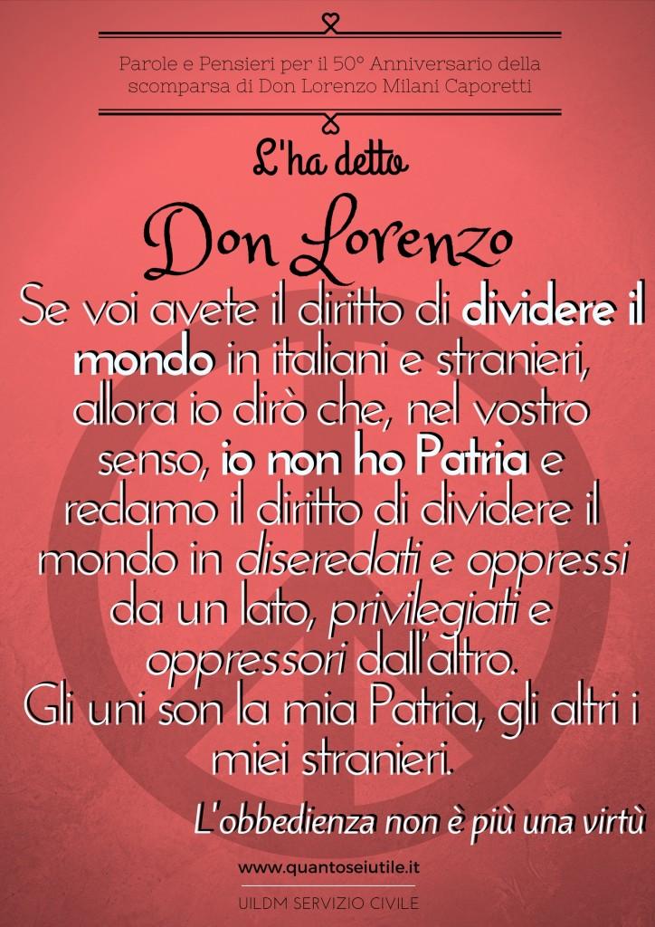 L'ha detto Don Lorenzo
