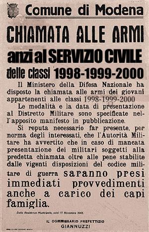 La Ministra della Difesa Roberta Pinotti ha proposto di introdurre di nuovo la Leva attraverso un Servizio Civile Obbligatorio. Che ne pensi?
